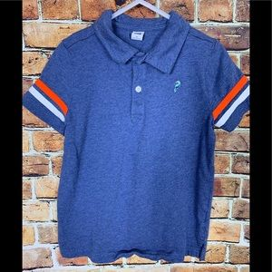 Janie and Jack Boys Blue Two Button Polo Size 6